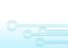 голубые узлы Стоковое Изображение