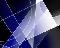 голубые формы Стоковая Фотография