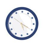голубые часы Стоковые Фотографии RF