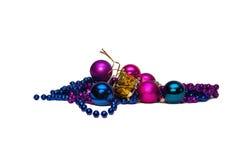 Голубые шарики Стоковая Фотография