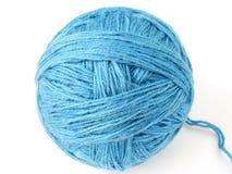 голубые шерсти пасма Стоковая Фотография RF