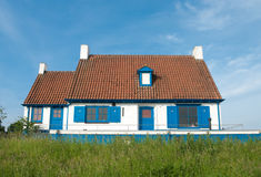 голубые штарки дома Стоковые Изображения