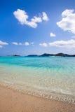 голубые штилевые ясные воды японии южные Стоковое Изображение