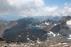 голубые moutains озера стоковые фото