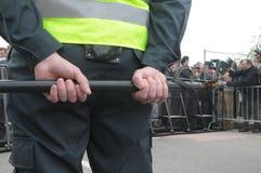 голубые prostesters гордости в марше Литвы Стоковое фото RF