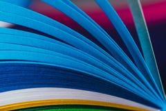 Голубые quilling бумажные кривые Стоковое фото RF