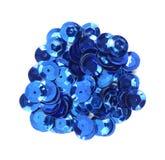 голубые sequins корабля Стоковые Фотографии RF