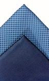 голубые silk связи 2 Стоковое Изображение