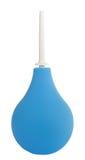 голубым изолированная шариком медицинская белизна всасывания Стоковая Фотография RF