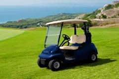 гольф автомобиля стоковые фотографии rf