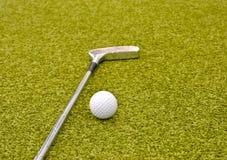 гольф внутри нутряная миниой стоковая фотография
