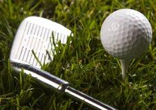 гольф водителя шарика Стоковые Фотографии RF
