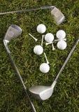 гольф водителя шарика Стоковые Изображения RF