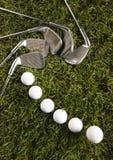 гольф водителя шарика Стоковые Изображения