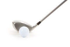 гольф водителя шарика Стоковая Фотография RF