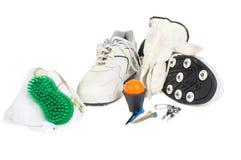 гольф вспомогательного оборудования Стоковая Фотография RF