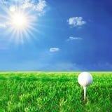 гольф игры стоковая фотография
