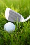 гольф клуба шарика Стоковое Изображение RF