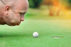 гольф клуба Стоковое Изображение