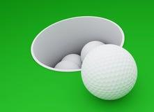 гольф клуба Бесплатная Иллюстрация
