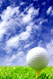 гольф курса шарика стоковые изображения