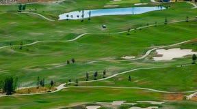 гольф курса Стоковые Изображения