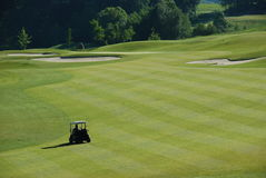 гольф курса стоковые изображения rf