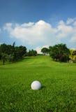 гольф курса стоковое изображение