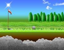 гольф курса бесплатная иллюстрация