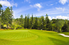 гольф курса Стоковые Фотографии RF