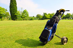 гольф оборудования Стоковые Фото