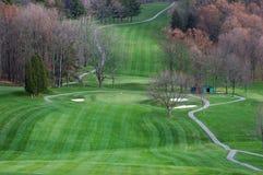 гольф осени стоковое фото rf