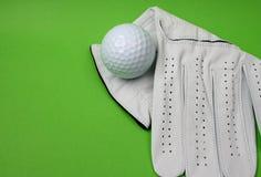 гольф перчатки Стоковые Изображения
