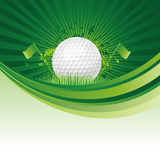 гольф предпосылки Стоковое Изображение