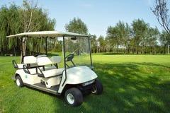 гольф тележки стоковая фотография