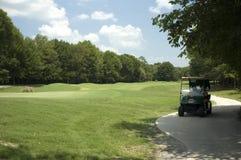 гольф тележки Стоковые Фотографии RF
