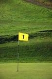 гольф флага Стоковые Фото