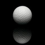 гольф черноты шарика предпосылки стоковое изображение rf
