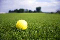 гольф шарика Стоковое Изображение