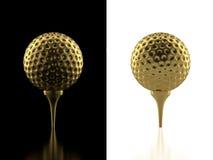гольф шарика бесплатная иллюстрация