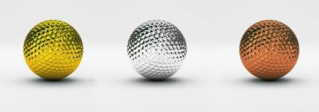 гольф шарика стоковое фото rf