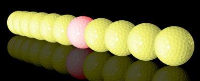 гольф шариков бесплатная иллюстрация