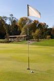 гольф 02 флагов Стоковые Фото