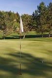 гольф 03 флагов Стоковые Фото
