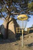 гольф folf диска стоковые изображения