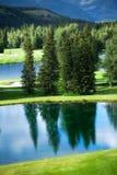 гольф kananaskis курса Стоковое фото RF