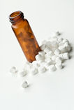 гомеопатическая ткань солей Стоковое фото RF