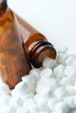 гомеопатическая ткань солей Стоковое Изображение