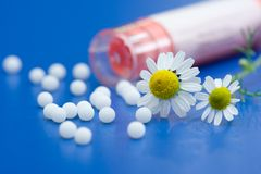 гомеопатическое лекарство Стоковое Изображение RF