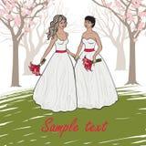 Гомосексуальное венчание Стоковые Фотографии RF